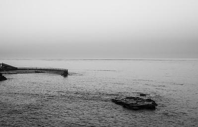 Casa Cove and Seal Rock at dawn
