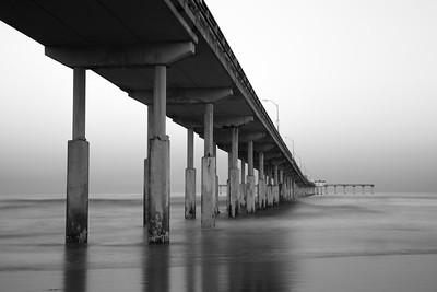 Ocean Beach Pier at dawn
