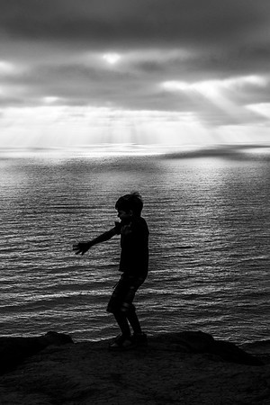 Dancing to his own beat, Torrey Pines