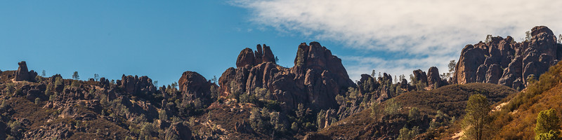 Pinnacles Nat. Park. 7 shot pano