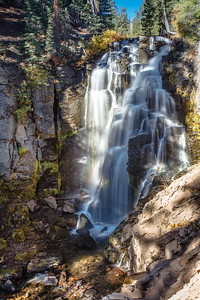 Kings Creek Falls in Lassen Volcanic Nat. Park
