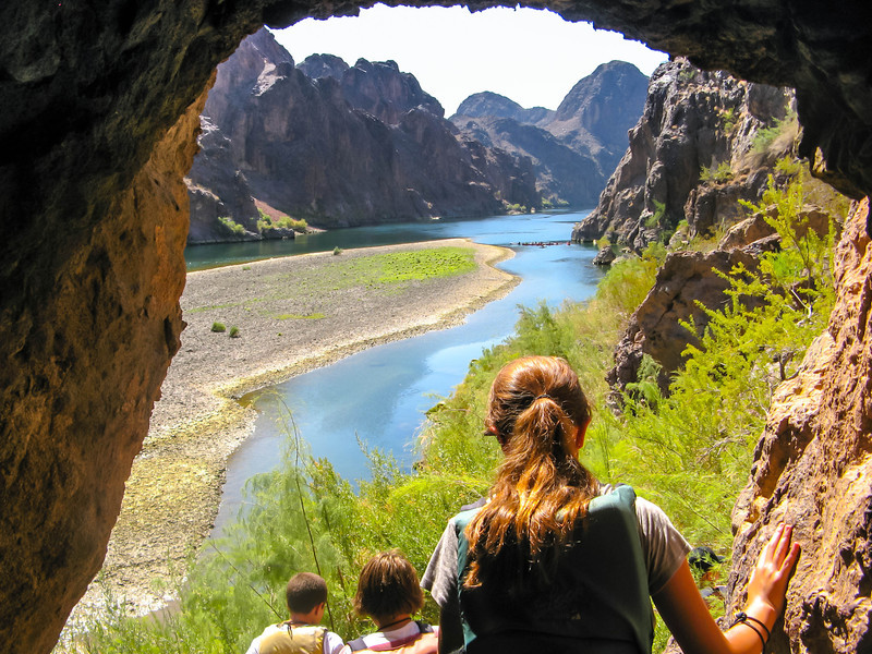 Sauna Cave, Colorado River, NV
