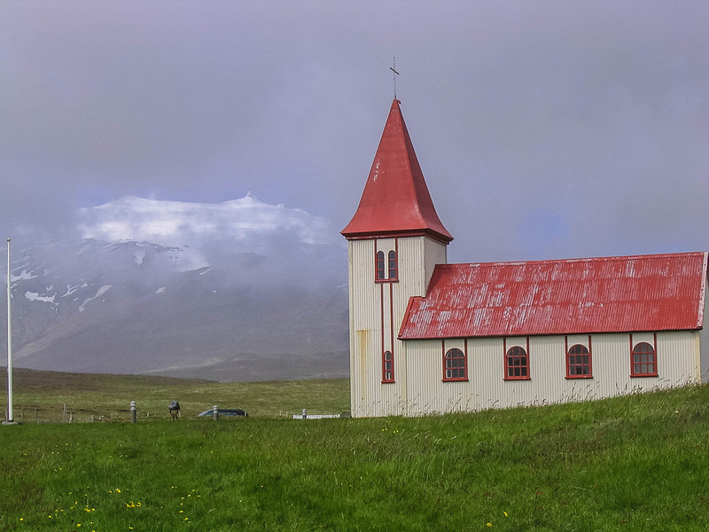 Church house in Iceland