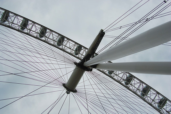 THE WIRES OF THE LONDON EYE