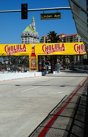 OUT OF THE HAIRPIN, ONTO THE STRAIGHTAWAY, LONG BEACH GRAND PRIX