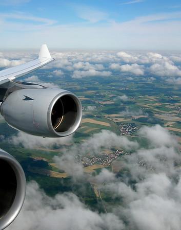 INBOUND MUNICH A340