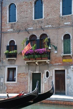 The City Flag and Gondolas