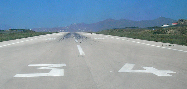 RUNWAY 34 MYKONOS, GREECE