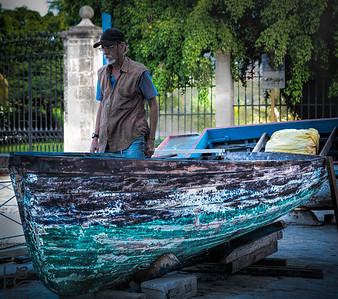 Cuba boat repair