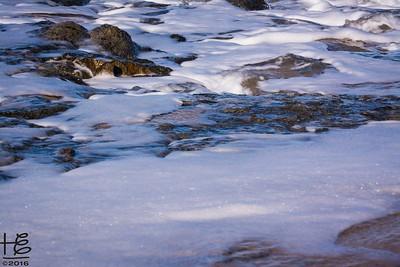 Foamy rock