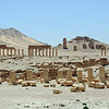 Crumbling ancient city of Palmyra, Syria
