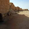 Wall around the ancient city of Dura Europus, Syria