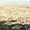 Desert scenery near the oasis of El Goléa, Interior Algeria
