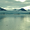Nordenskiold glacier entering Adolfbukta (78º 50' North), Svalbard