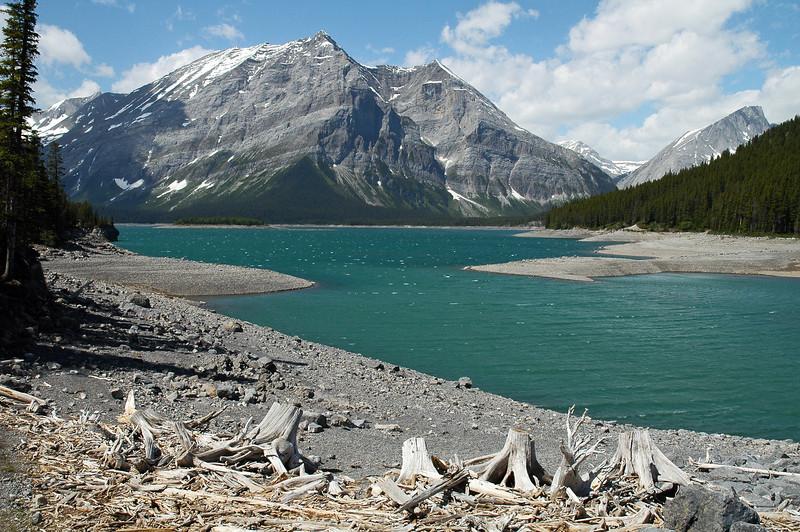 Kananaskis Lake in the southern Canadian Rockies