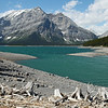 Kananaskis Lake in the southern Canadian Rockies