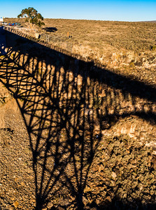 Great Gorge Bridge Shadow