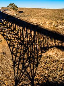 Great Gorge Bridge Shadow