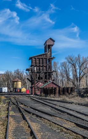 Cumbres & Toltec RR. Coaling Station
