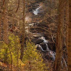 Upper Cullasaja Falls