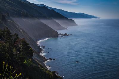 Coastline and Mist