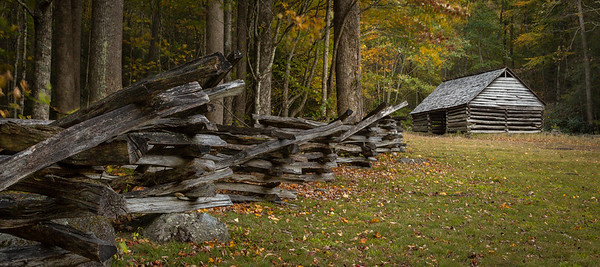 Log Cabin at Roaring Fork