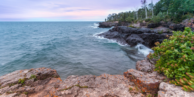 Minnesota Rocky Shore Cliff