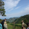 On the hike to track the Christmas group of highland gorillas, Bwindi Impenetrable National Park. Sep 9, 2018