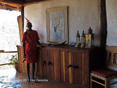 Samburu in the Sabuk dinning room