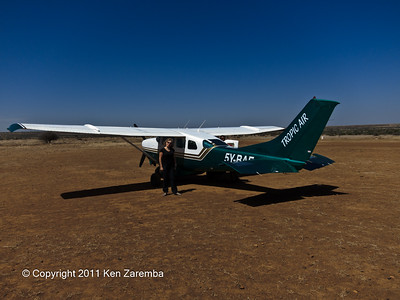Tropic Air private charter at Loisaba Airport