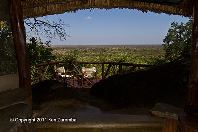 Elsa's Kopje Safari Lodge, our room