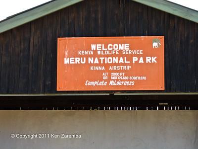 Kinna Airstrip, Meru National Park