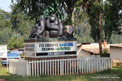 Must be getting closer to gorilla country, on the road to Volcanoes Nat. Pk. from Kigali Rwanda, 1/13/09