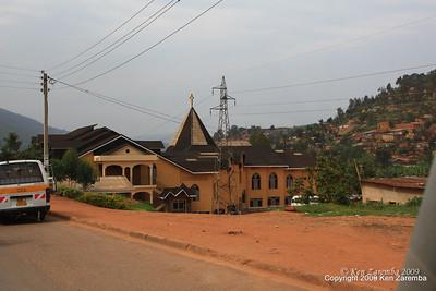 New Catholic Church, Kigali Rwanda, 1/12/09