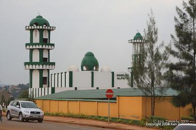 Mosque, Kigali Rwanda, 1/12/09