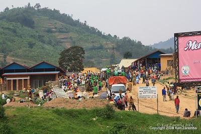 Farmers market rural Rwanda, 1/13/09