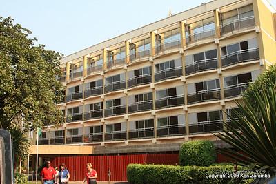 the old Hotel Rwanda, Kigali Rwanda, 1/13/09