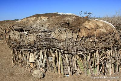 Maasai Boma (house), Tanzania 1/03/09