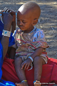 Maasai child, Tanzania 1/03/09