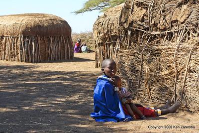Maasai Village, Tanzania 1/03/09