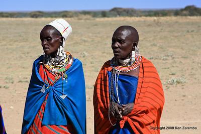 Maasai women, Tanzania 1/03/09