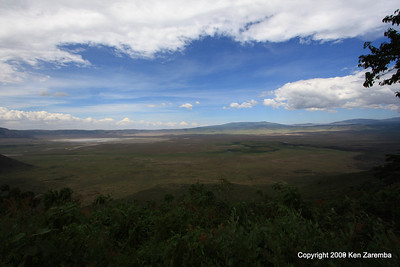 Ngorongoro Crater, Tanzania, 1/01/09