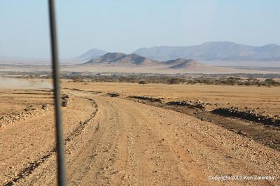 Heading for the Olduvai Gorge from Ngorongoro Crater, Tanzania 1/03/09