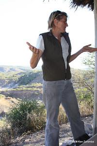 Louise Leakey, Olduvai Gorge Museum, Tanzania 1/03/09