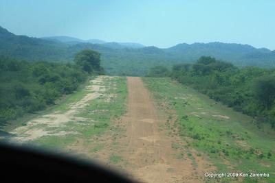 Jongomero Safari Camp Airstrip, Ruaha Nat. Pk. Tanzania, 1/09/09