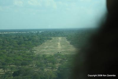 Siwando, Selous Safari Camp airstrip Tanzania 1/06/09