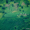 Isolated Masai village and boma,Tanzania 1/06/09