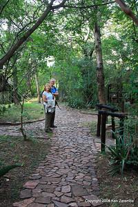 Pathways between reception and dinning tents, Kirawira Camp Western Serengeti Tanzania 1/06/09