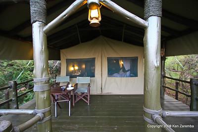 Front of our tent, Kirawira Camp Western Serengeti Tanzania 1/06/09