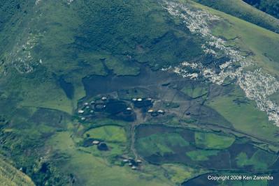 Maasai villages,boma, Tanzania 1/06/09